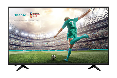 "HISENSE 50"" H50A6100 Smart LED 4K UHD digital LCD TV"