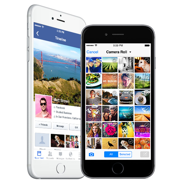 iphone sa facebook aplikacijom